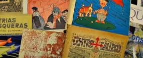 Portadas de revistas gallegas