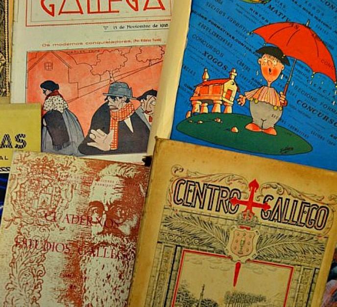 Portada de revistas galegas