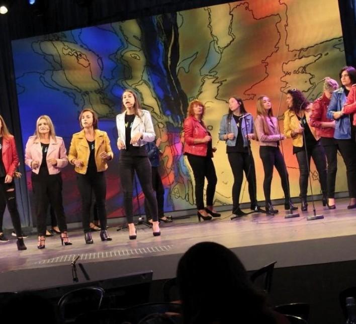 Coro no escenario