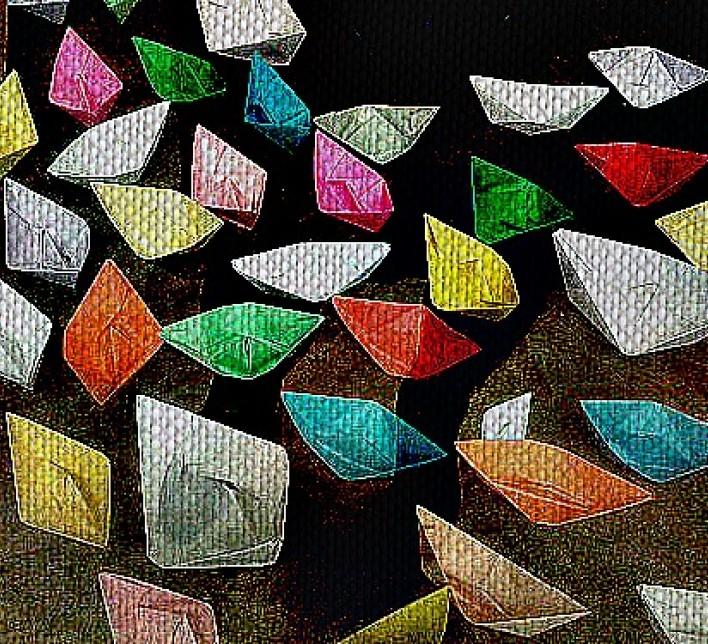 barquiños de papel