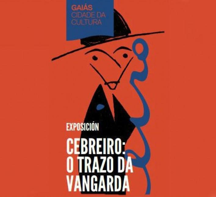 Imaxe do cartel no que figura a caricatura de Cebreiro