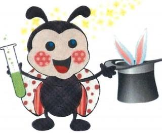 dibujo de una hormiga haciendo magia