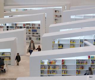Sala de lectura de la BdG