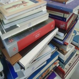 Columna de libros