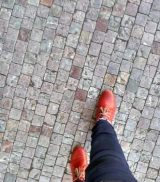 Pies caminando