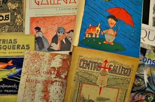 Portadas de revistas galegas