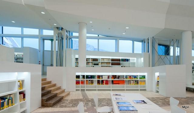 Sala de lectura da BdG